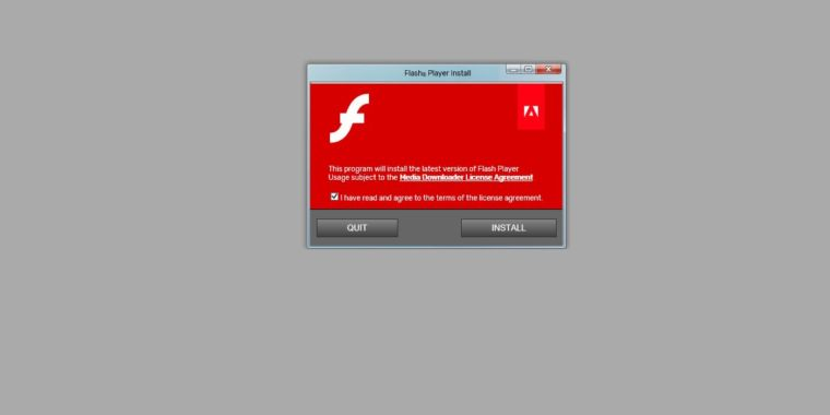 Equifax website borked again, this time to redirect to fake Flash update