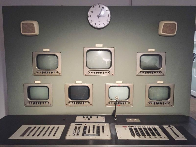 An old television studio.