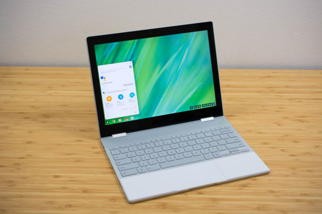 Google's high-end Chromebook, the Pixelbook.