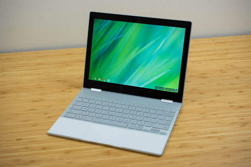 It sure looks like Google is trying to make Pixelbooks run Windows