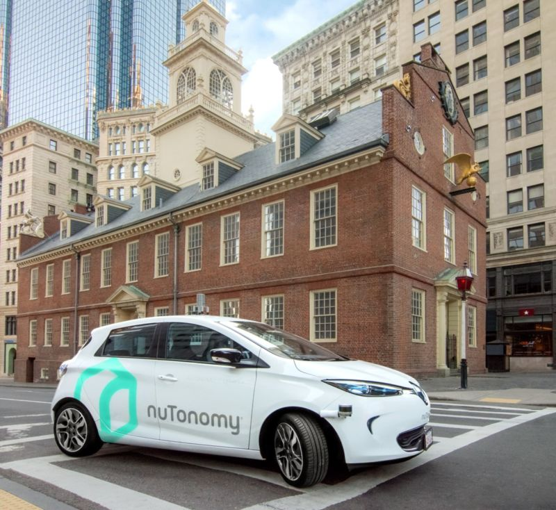 nuTonomy was spun out of MIT and has stayed true to its New England roots.