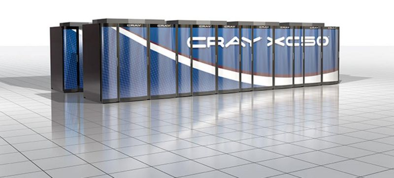 Cray XC50 supercomputer.