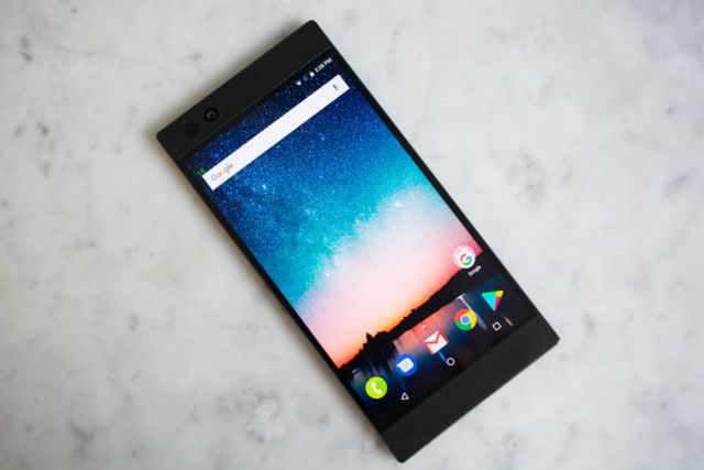 Razer made a smartphone, and it's an all-black version of the