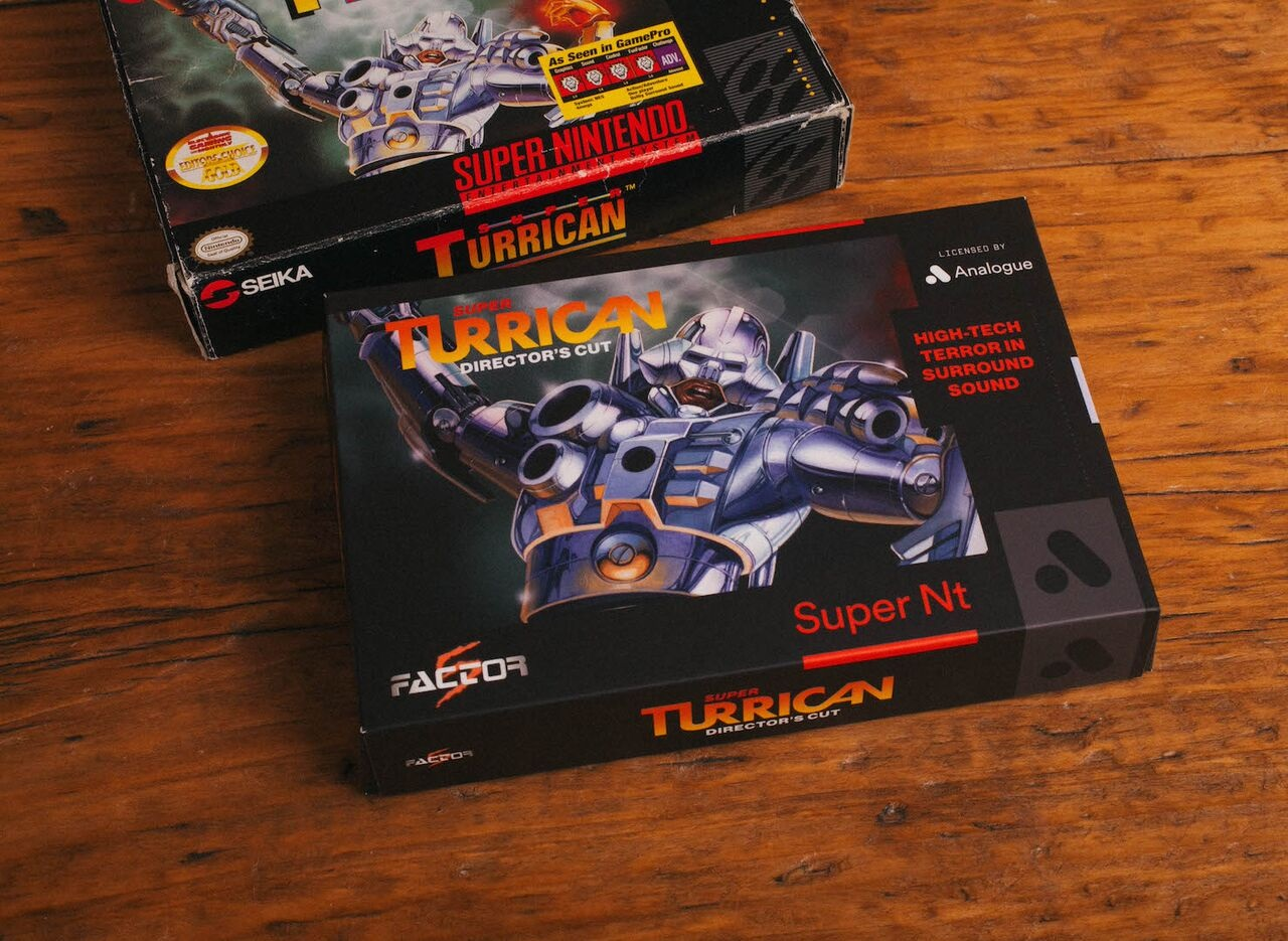 Unreleased Super NES game to come packed with every Analogue