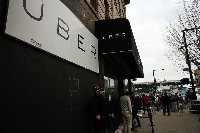 Uber's office in Queens, New York.