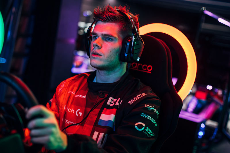 25-year-old Rudy van Buren beat out 30,000 gamers to win a year's contract with the McLaren F1 team as its new simulator driver.