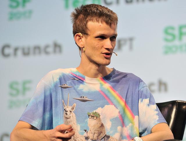 Ethereum creator Vitalik Buterin.
