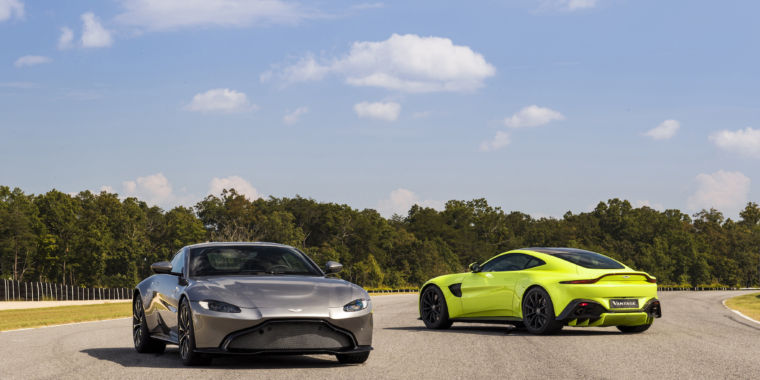 Aston Martin Reveals Its All New Vantage, A 503hp V8 Sports Car | Ars  Technica