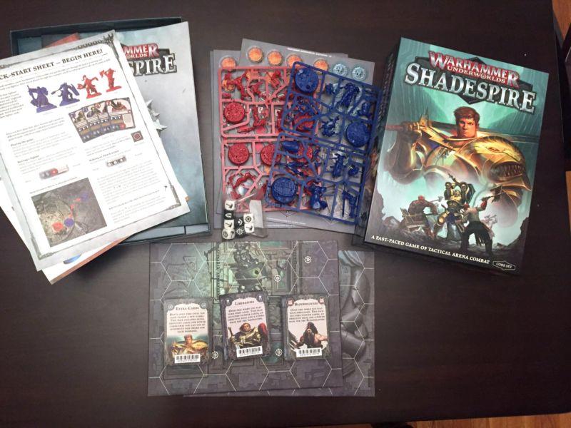 Warhammer Underworlds: Shadespire: A 30-minute grimdark fantasy war