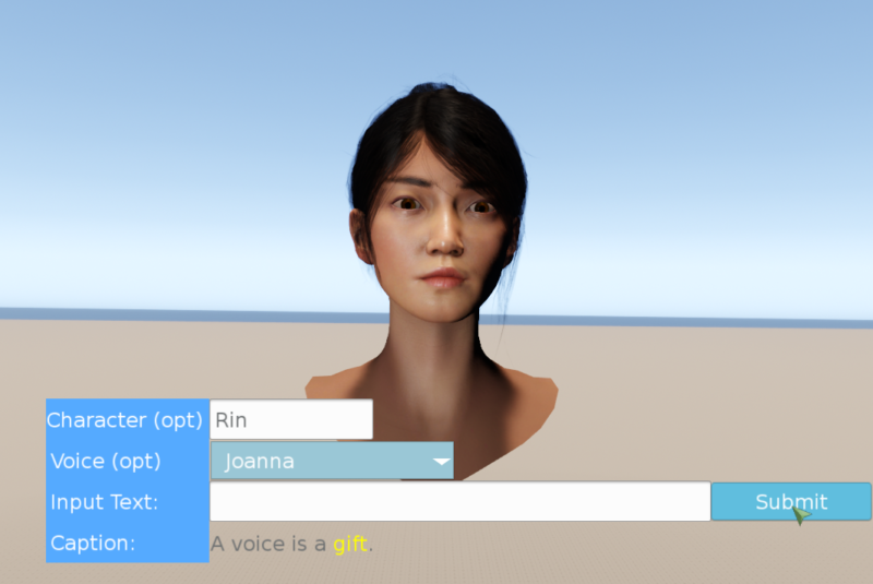 In Amazon's game engine, voice actors can now be replaced