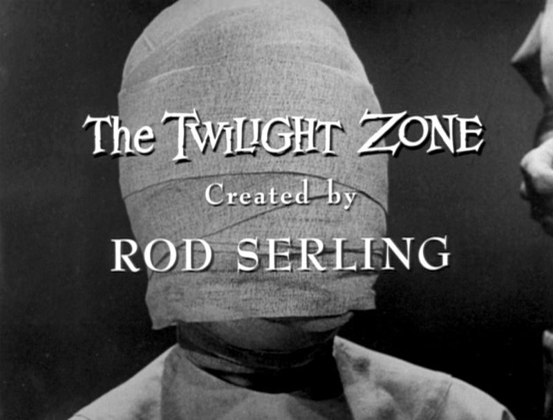 The end credits from <em>Twilight Zone</em> episode &quot;Eye of the Beholder,&quot;  written by the pride of Binghamton, New York—<a href=
