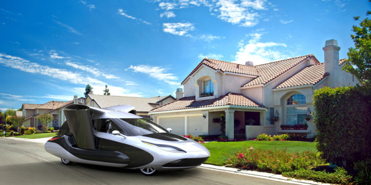 photo image Geely gets into flying cars, completes purchase of Terrafugia
