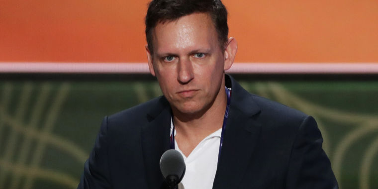 "photo image University could lose millions from ""unethical"" research backed by Peter Thiel"