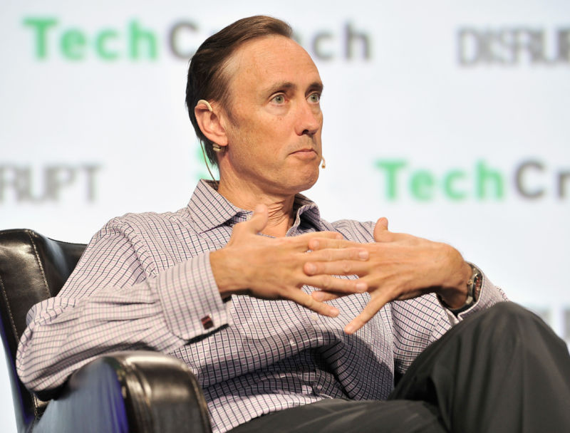 DFJ Partner Steve Jurvetson  speaks onstage during TechCrunch Disrupt SF 2017 at Pier 48 on September 18, 2017 in San Francisco, California.