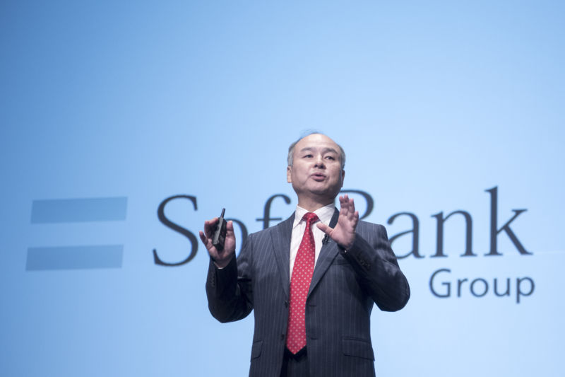 SoftBank Group Corp Chairman and CEO Masayoshi Son attends a news conference in Tokyo, Japan, February 8, 2017. Son has spearheaded the new round of investment in Uber.