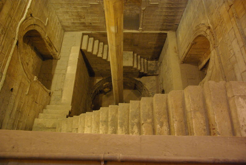 This Nilometer at Cairo is an ancient device that Egyptians used to measure Nile flooding, to predict the harvest, and set tax levels. Scientists used historical data from Nilometers to see how volcanic eruptions affected Nile floods (and by extension, the health of the harvest).
