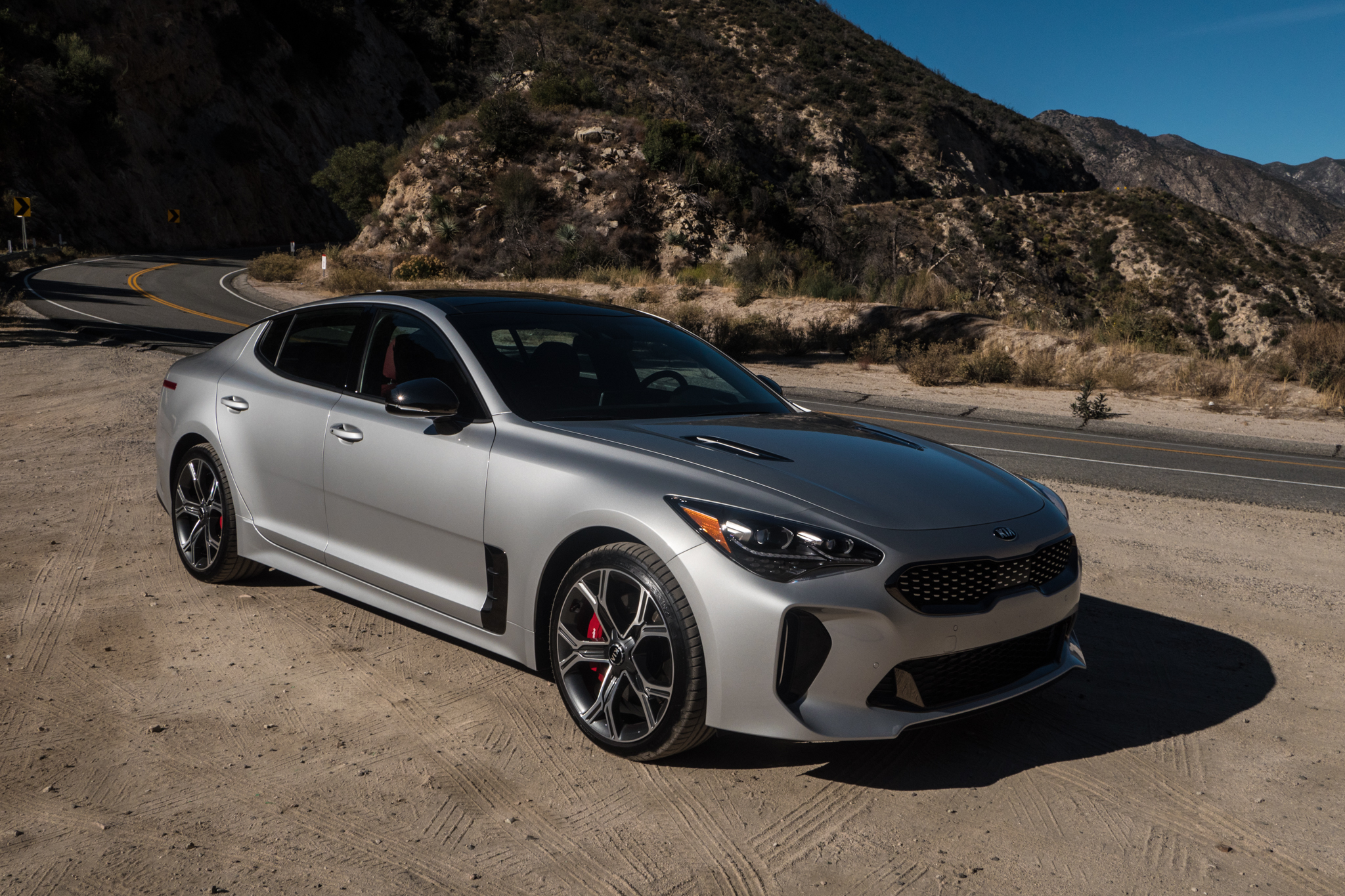 Delightful Enlarge / The 2018 Kia Stinger GT.