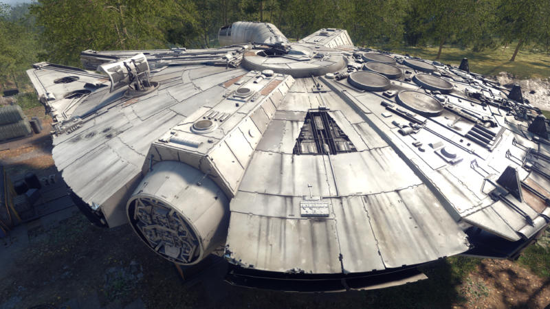 The pull of the Force is strong with things like an impeccably rendered Millennium Falcon. (I mean, gosh, that's purty.) But <em>Star Wars: Battlefront II</em> can't paint over most of its failings.