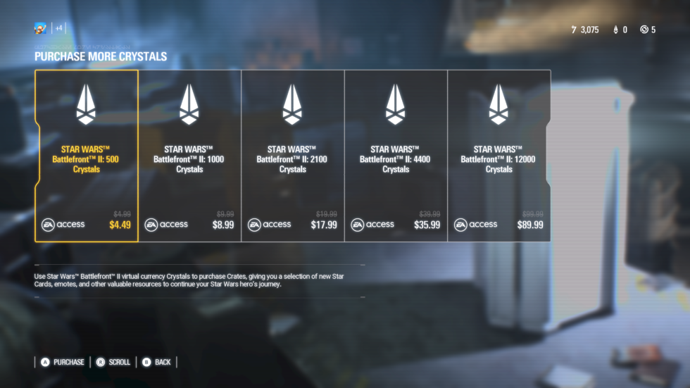 Look at all those savings if you're an EA Access member, though! They're practically <em>giving</em> crystals away.