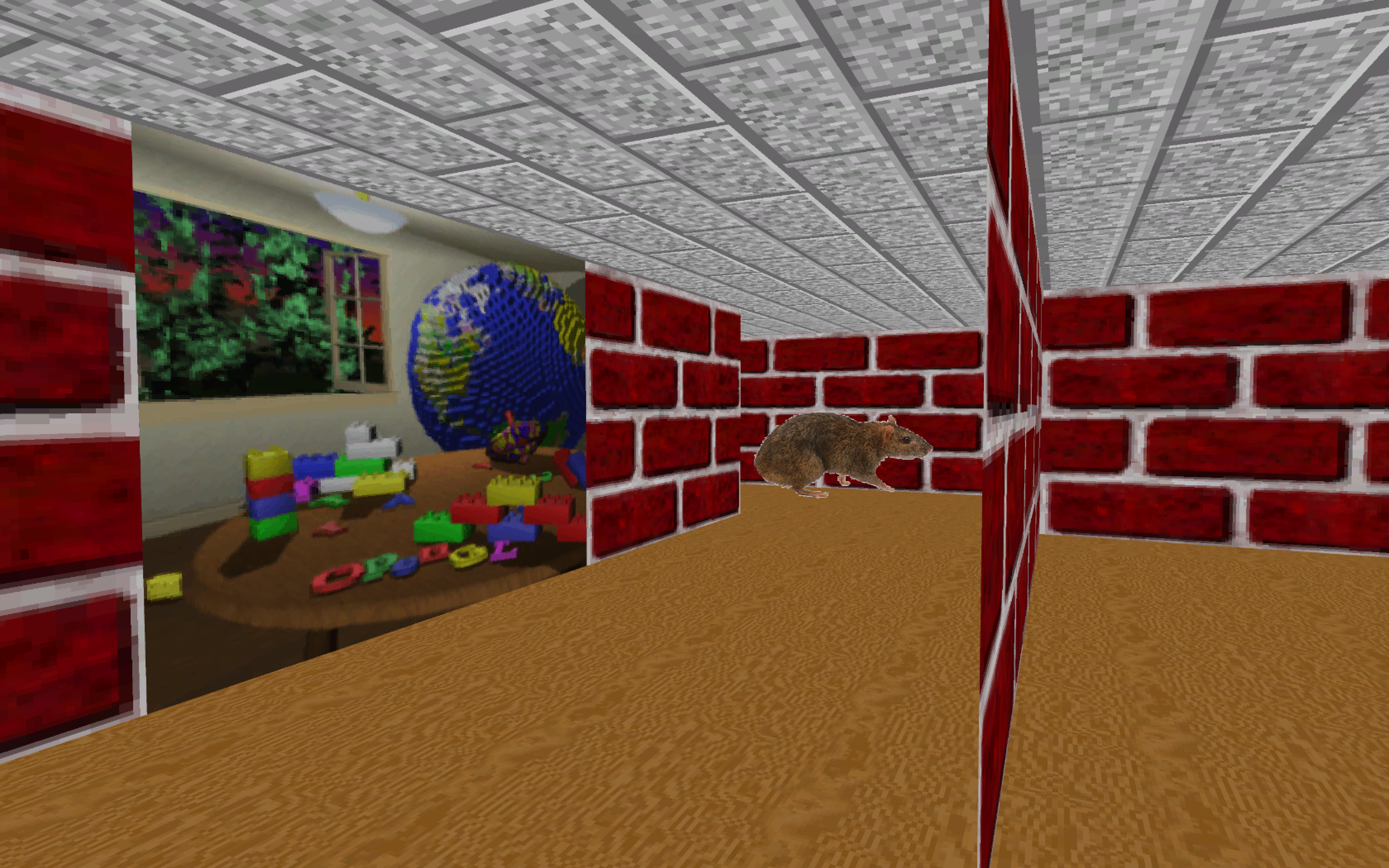 The dream of the '90s is alive in this Windows 95 screensaver indie