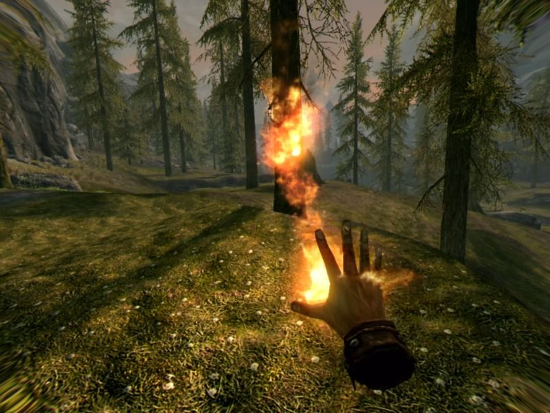 The world of Skyrim is thrilling and flawed in VR [Updated