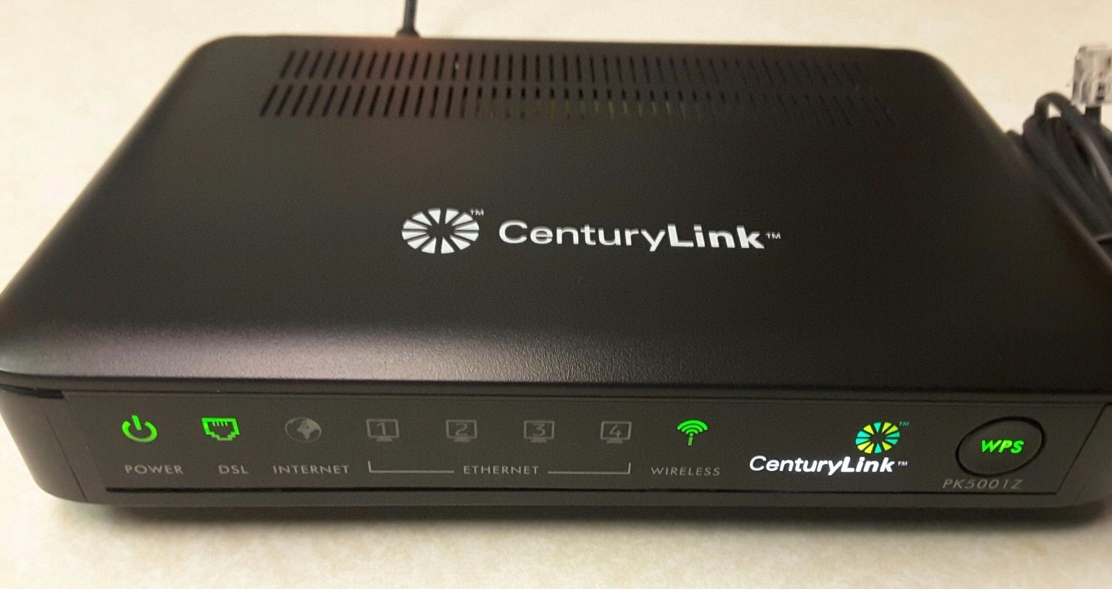 Enlarge One Of The Modems Targeted By A Newly Disered Strain Mirai Centurylink