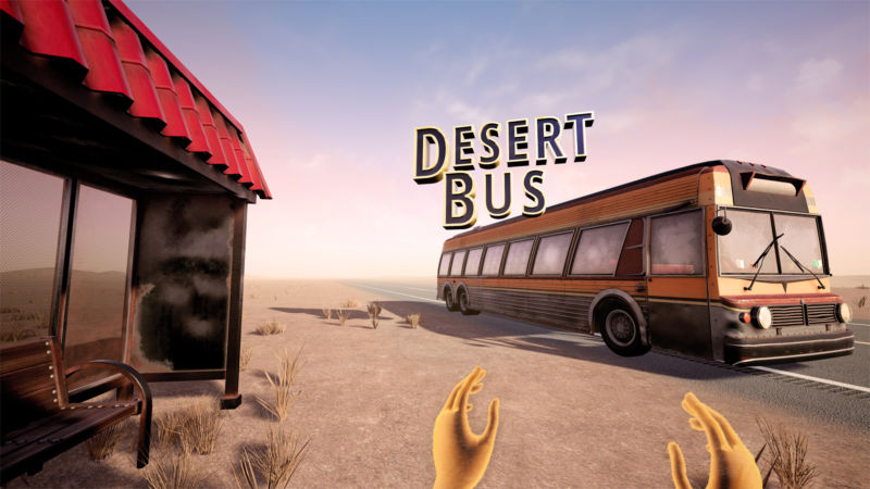 All aboard the most boring VR bus ever.