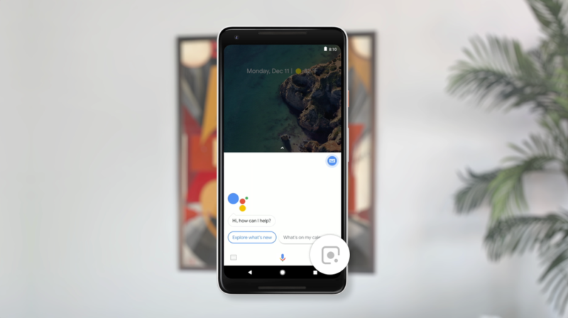 Google Lens in Assistant now rolling out to Pixel phones