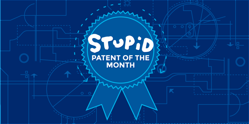 This stupid patent was going to be used to sue hundreds of small businesses