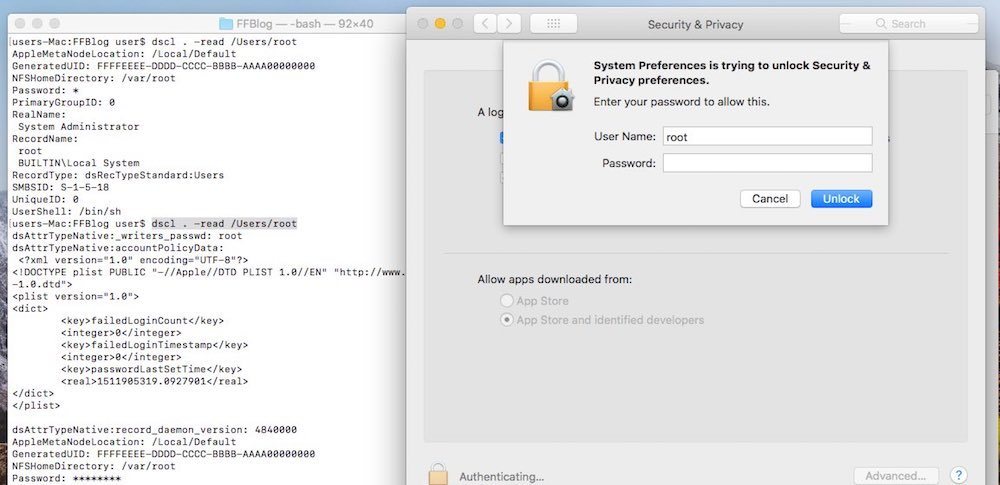 how to find my admin password on macbook pro