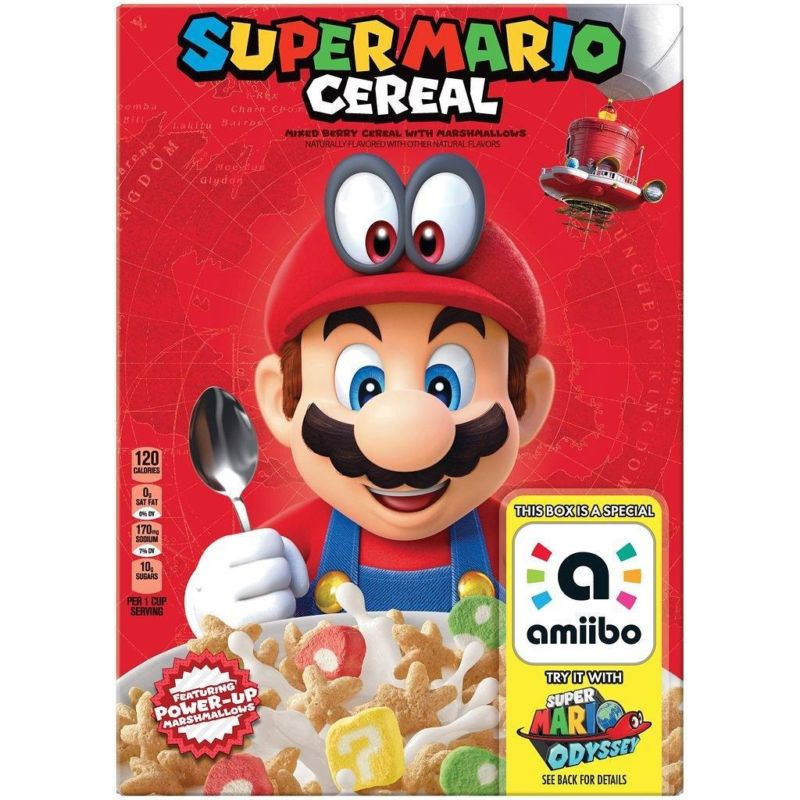 Super Mario Cereal is now Nintendo official