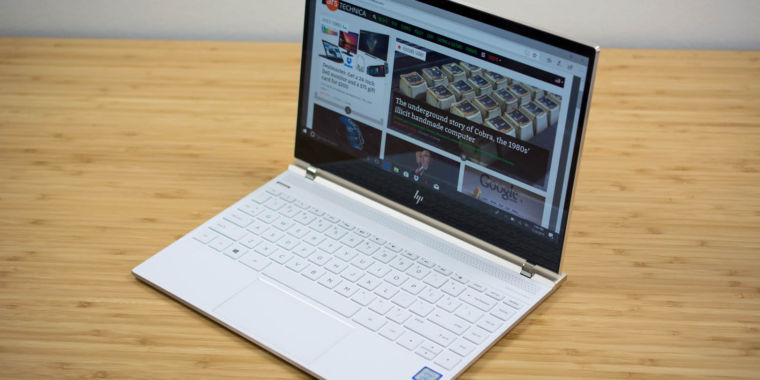 HP Spectre 13 2017 review: A killer laptop, now touch-friendly | Ars