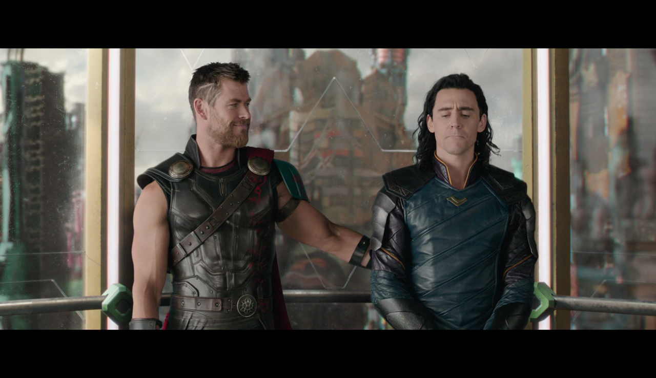 "Thor asks if he can use the ""get help"" tactic in the next battle. Loki begrudgingly agrees."