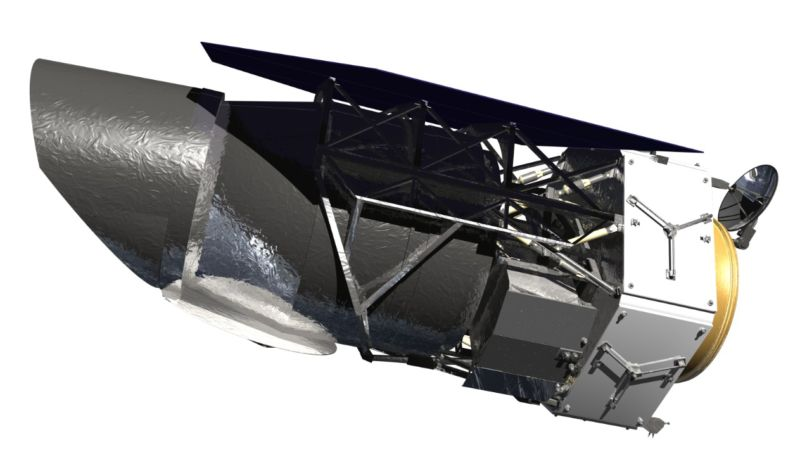 Concept image of the WFIRST space telescope.