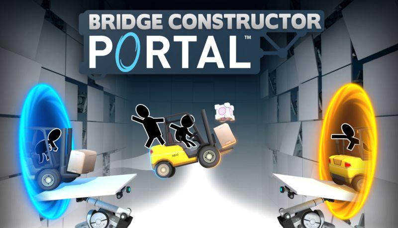 Valve announces the return of Portal... via Bridge Constructor
