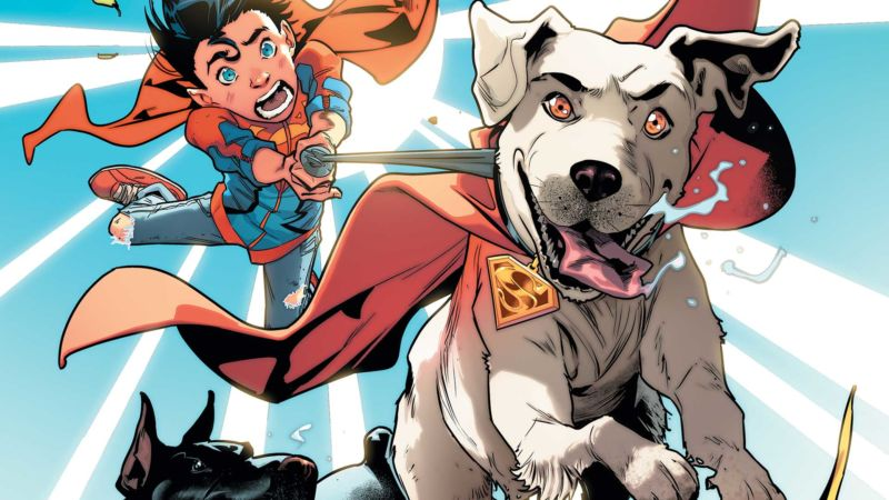 <em>Super Sons</em> is actually about Super Pets. And that's a good thing.