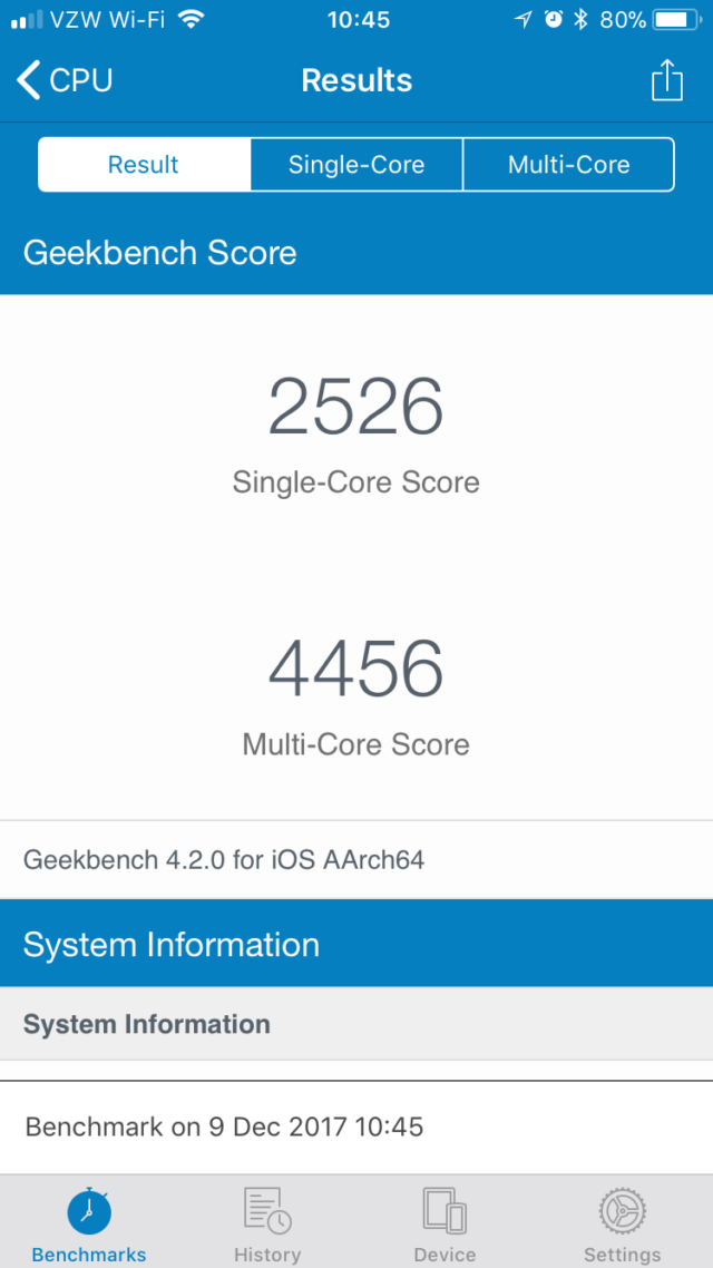 Geekbench and Reddit think they've cracked why iPhones get slower