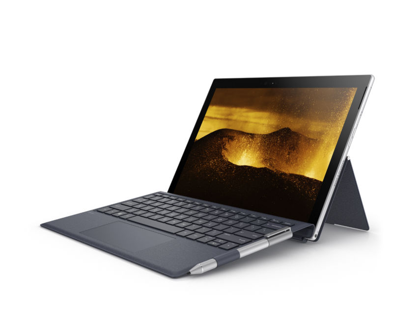 The Snapdragon 835-powered HP Envy x2.