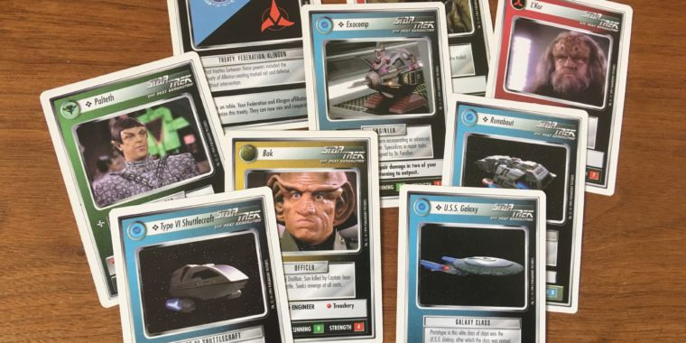 How a Star Trek card game quietly continues, 10 years after its