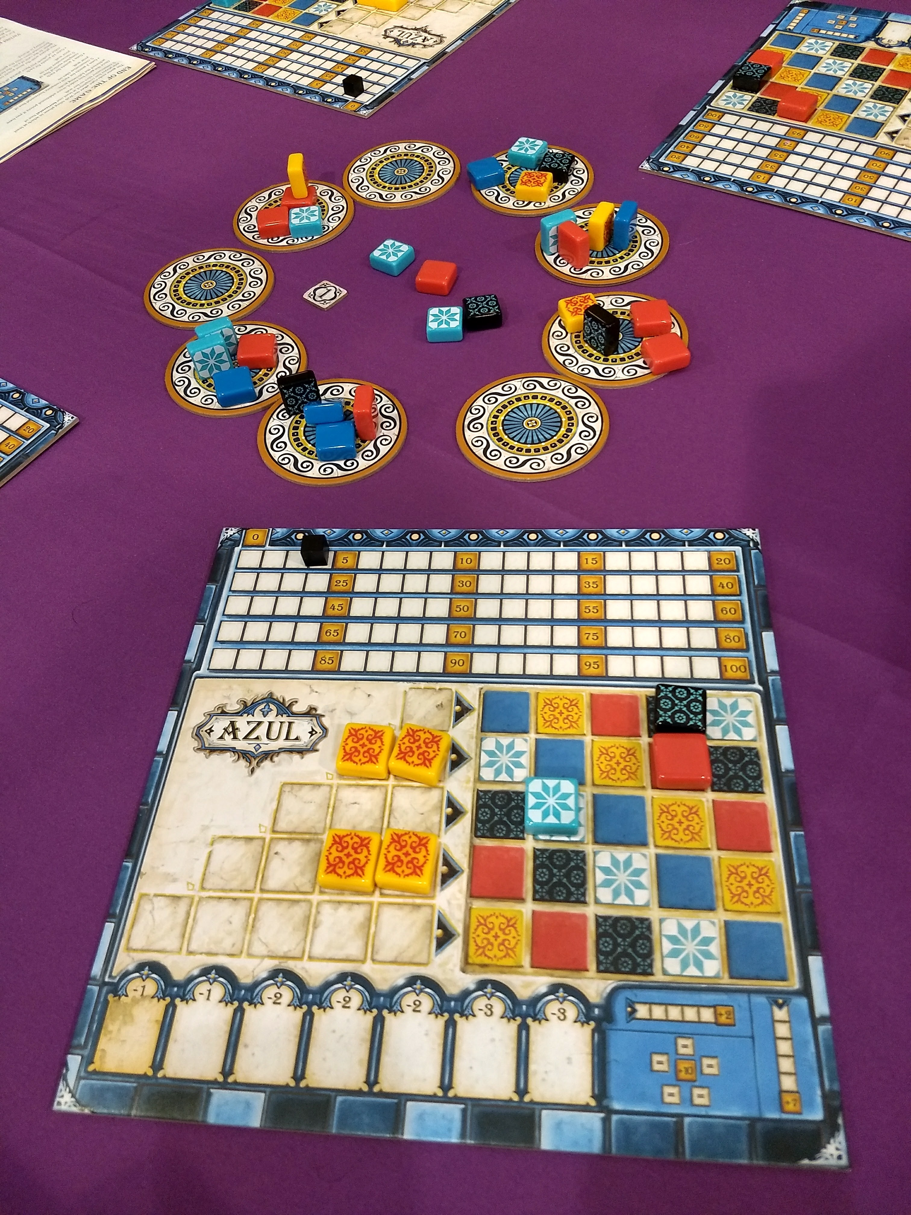 The Best Board Games Of 2017 Ars Technica There Are 2 Boards Main And A Second One For Controls Azul Will Have To Be In Contention Next Years Spiel Des Jahres Gaming Awards Germany Game Defines Elegance With Its Minimal Ruleset