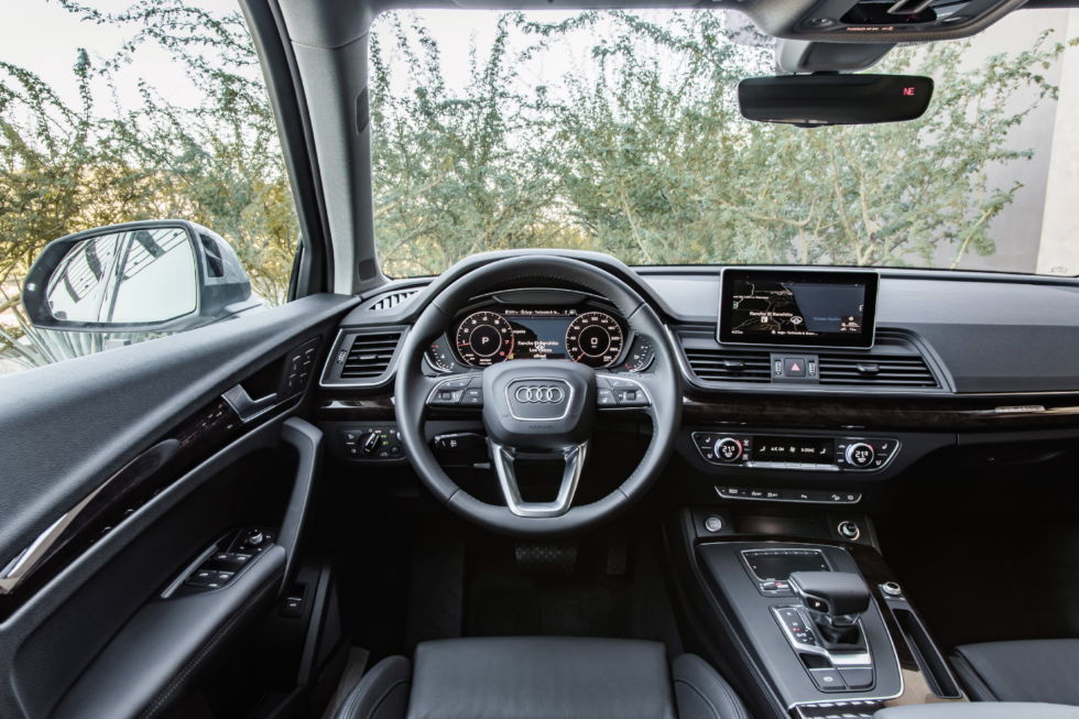 A sea of calm behind the wheel: The 2018 Audi Q5, reviewed ...