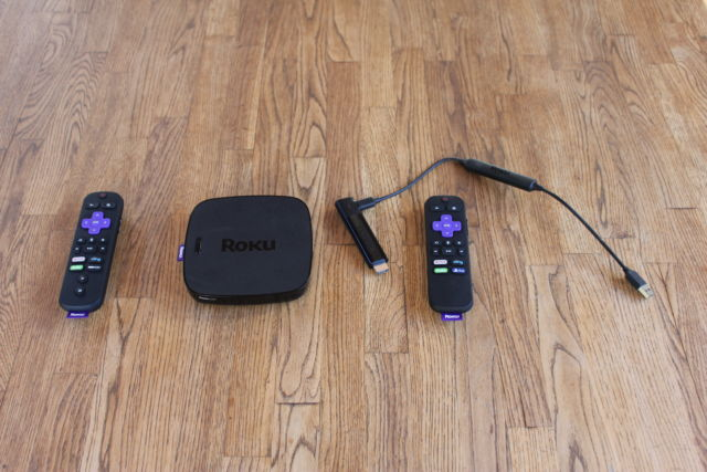 Roku Ultra and Streaming Stick Plus.