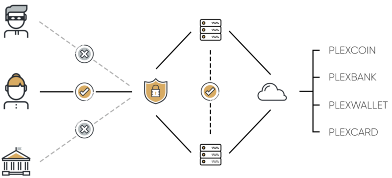 A diagram on the PlexCoin website illustrates the cryptocurrency's revolutionary architecture.
