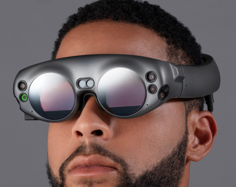 "Say hello (or ""yikes"") to Magic Leap One."