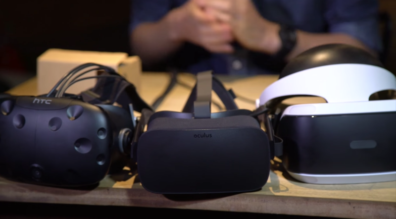 The three big home-VR dogs face off for another great year of software.