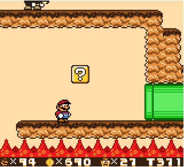 A Christmas gift from Game Boy ROM hackers: Super Mario Land 2 in