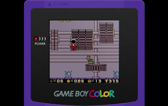 A Christmas gift from Game Boy ROM hackers: Super Mario Land
