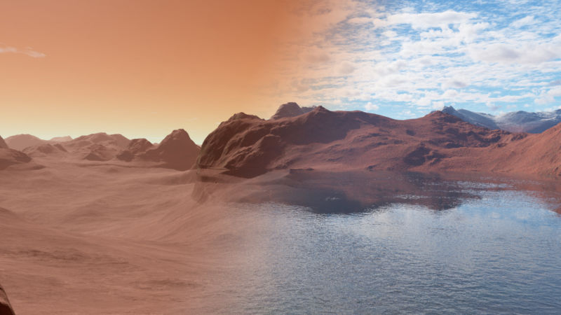 Mars' surface water: We finally know what happened
