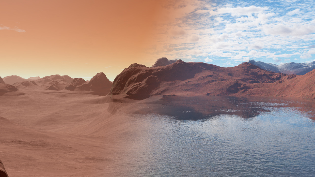 where did mars water go maybe into the planet s interior ars