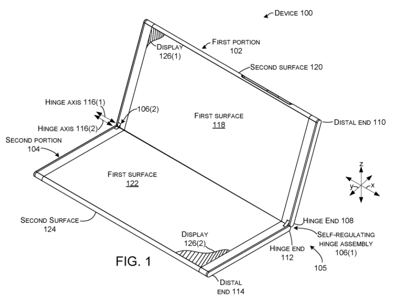 "The ""Surface Phone"" is speculated to be some kind of dual-screen device."